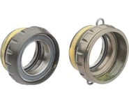 Campagnolo Power-Torque Bottom Bracket Cups (Silver) (Italian) | product-related
