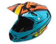 Fly Racing Werx Rival MIPS Helmet (Teal/Orange/Black) | product-also-purchased