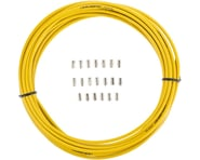 Jagwire Sport Brake Housing (Yellow) (5mm) (10m Roll)   product-related