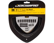 Jagwire 2x Sport Shift Cable Kit SRAM/Shimano (Black) | product-related