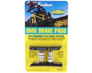 Kool Stop BMX Brake Pads (Threaded) (Black) (Pair) | product-related