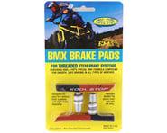 Kool Stop BMX Brake Pads (Threaded) (Black/Salmon) (Pair)   product-related