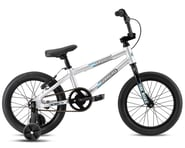 """SE Racing 2021 Bronco 16"""" BMX Bike (Silver) (15.1"""" Toptube) 