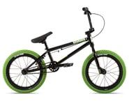 "Stolen 2021 Agent 16"" BMX Bike (16.25"" Toptube) (Black/Neon Green)   product-also-purchased"