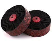Supacaz Super Sticky Kush Handlebar Tape (Starfade Black & Red) | product-also-purchased