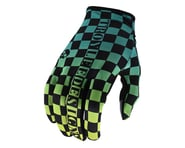 Troy Lee Designs Flowline Gloves (Checkers Green/Black) | product-also-purchased