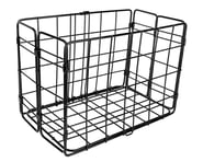 Wald Side-Mount Folding Rear Basket (Black) | product-related