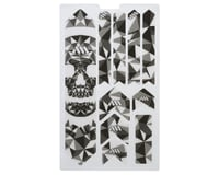 All Mountain Style Honeycomb Frame Guard Extra (Grey) (Skull)