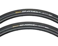 Continental Grand Prix Attack & Force Tire Set (Black)