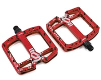 Deity TMAC Pedals (Red Anodized)