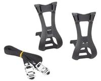 Dimension Toe Clip & Strap Set (Black)