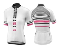 Liv Signature Women's Jersey (White/Hot Pink)