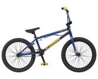 """GT 2021 Slammer BMX Bike (20"""" Toptube) (Trans Electric Blue)"""