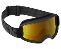 iXS Hack Goggle (Black) (Gold Mirror Lens)