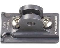 K-Edge GoPro Adapter by K-EDGE (Lumina & Mako Series) (Gun Metal)