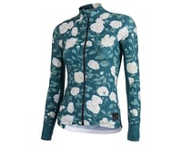 Machines For Freedom Women's SummerWeight Long Sleeve Jersey (Jade/Rose)