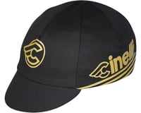 Pace Sportswear Cinelli Cycling Cap (Black/Gold) (One Size Fits Most)