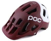POC Tectal Race SPIN Helmet (Propylene Red/Hydrogen White Matte)