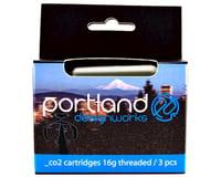 Portland Design Works CO2 Refill Cartridges (Silver)