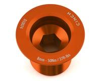Race Face CINCH Crank Bolt w/ Washer (Gloss Orange) (NDS) (M18)