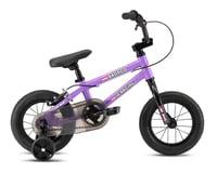 "SE Racing 2021 Bronco 12 Kids BMX Bike (Purple) (11.9"" Toptube)"