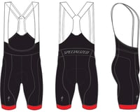 Specialized Men's SL Race Bib Shorts (Black/Red)