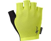 Specialized Body Geometry Grail Short Finger Gloves (Hyper Green)