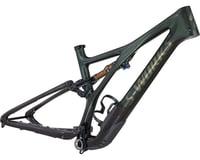 Specialized 2021 S-Works Stumpjumper Full Suspension Frame (Gloss Oak Green Metallic/Diamond Dust/Carbon)