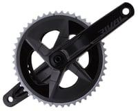 SRAM Rival AXS Crankset w/ Quarq Power Meter (Black) (2 x 12 Speed) (DUB Spindle) (D1)