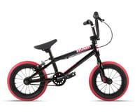 """Stolen 2021 Agent 12"""" BMX Bike (13.25"""" Toptube) (Black/Dark Red)"""