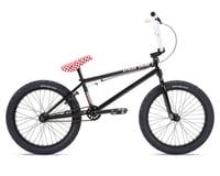 """Stolen 2021 Stereo 20"""" BMX Bike (20.75"""" Toptube) (Black/Fast Times Red)"""