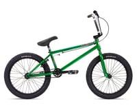 """Stolen 2021 Heist 20"""" BMX Bike (21"""" Toptube) (Dark Green/Chrome)"""