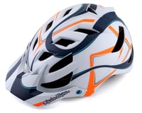 Troy Lee Designs A1 MIPS Youth Helmet (Welter White/Marine)