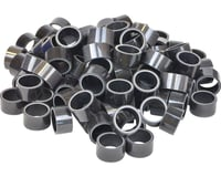 """Wheels Manufacturing 1-1/8"""" Carbon Headset Spacers (Black) (100)"""