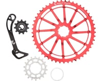 Wolf Tooth Components WolfCage Combo Pack (Red) (49T Cog & 18T Cog)