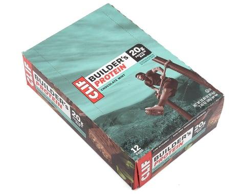 Clif Bar Builder's Bar (Chocolate Mint) (12) (12 2.4oz Packets)