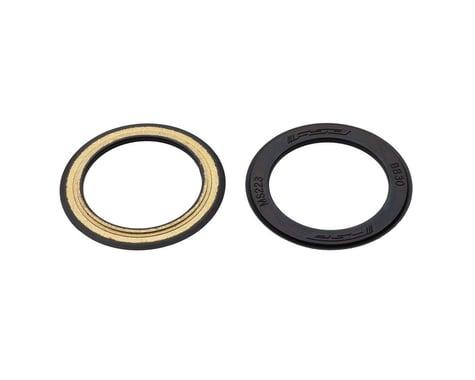 FSA BB30 Rubber Coated Bottom Bracket Bearing Covers (Black) (2)