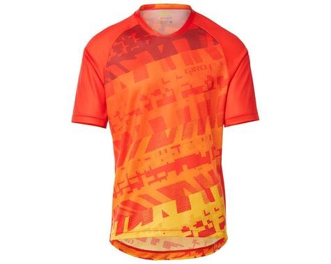 Giro Men's Roust Short Sleeve Jersey (Red/Orange Fanatic) (S)