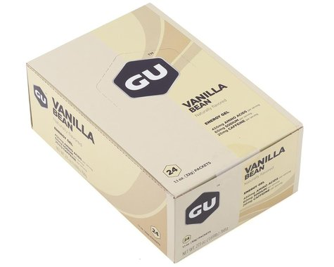 GU Energy Gel (Vanilla Bean) (24 1.1oz Packets)