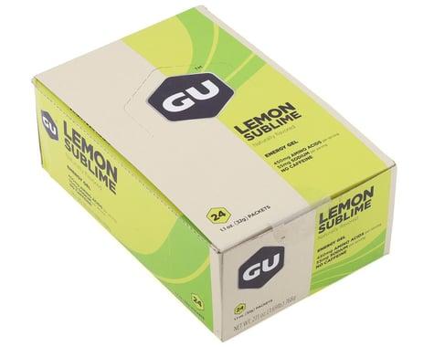GU Energy Gel (Lemon Sublime) (24 1.1oz Packets)