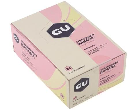 GU Energy Gel (Strawberry Banana) (24 1.1oz Packets)