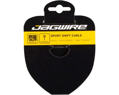 Jagwire Sport Slick Tandem Derailleur Cable (Stainless) (1.1x3100mm) (1)
