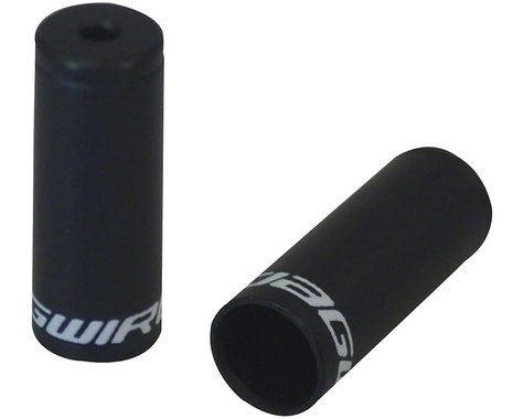 Jagwire Sealed Alloy End Caps (Black) (4.5mm) (Bottle of 50)