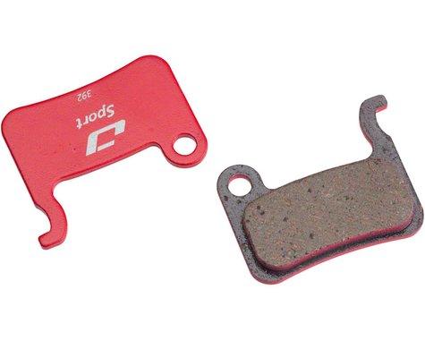 Jagwire Disc Brake Pads (Shimano XTR/Saint/SLX/DeoreXT/Alfine/R) (Semi-Metallic)