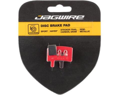 Jagwire Disc Brake Pads (Hayes Stroker Trail/Carbon/Gram) (Semi-Metallic)