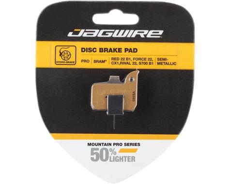 Jagwire Pro Alloy Backed Semi-Metallic Disc Brake Pads (SRAM Road)