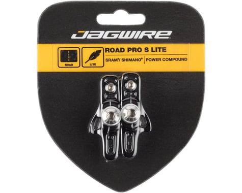 Jagwire Road Pro S Brake Pads (Black) (SRAM/Shimano)