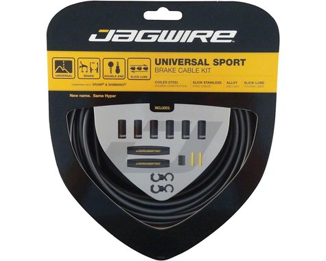 Jagwire Universal Sport Brake Cable Kit (Ice Grey) (Stainless) (1350/2350mm) (2)