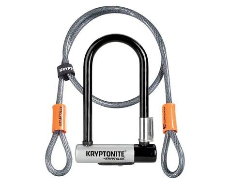 Kryptonite KryptoLok Mini-7 U-Lock with 4' Flex Cable and Bracket