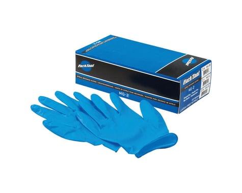 Park Tool MG-2 Nitrile Mechanic Gloves (Blue) (100/Box) (S)